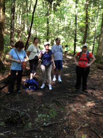 Deerfield Health Retreat and Spa: Another challenging hike