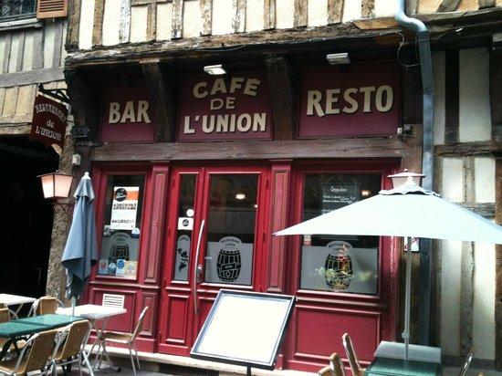 Le Cafe de l'Union : restaurant