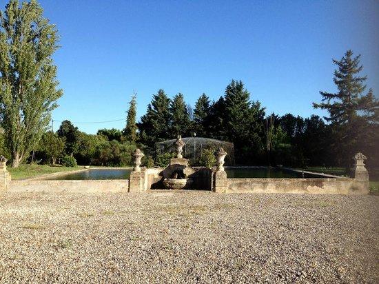 Moulin de La Quenin : le bassin à poissons