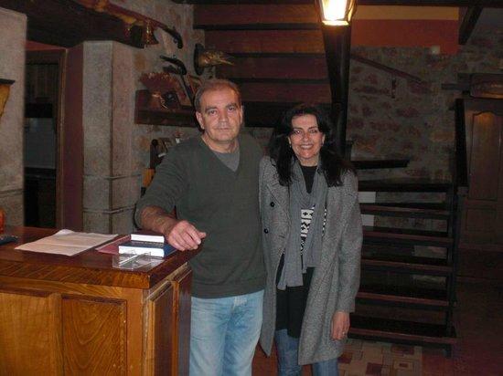 Casa Rural El Caserón: Jose el dueño del Caseron y yo