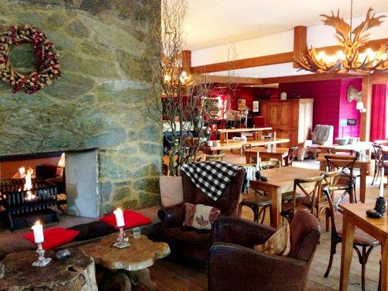 Badhotel Rockanje & Brasserie Lodgers: Restaurant chill ruimte
