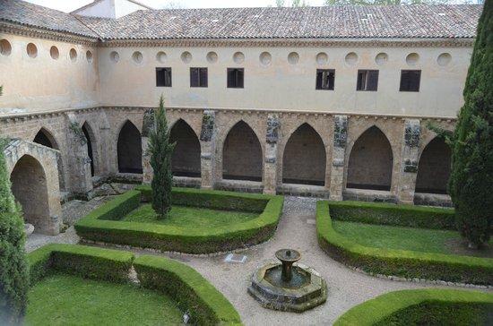 Monasterio de Piedra: Claustro