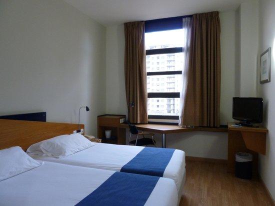 Holiday Inn Express Valencia Ciudad Las Ciencias : la camera