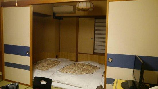 Hotel Edoya: zona para dormir