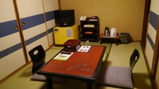 Hotel Edoya: zona de estar habitacion