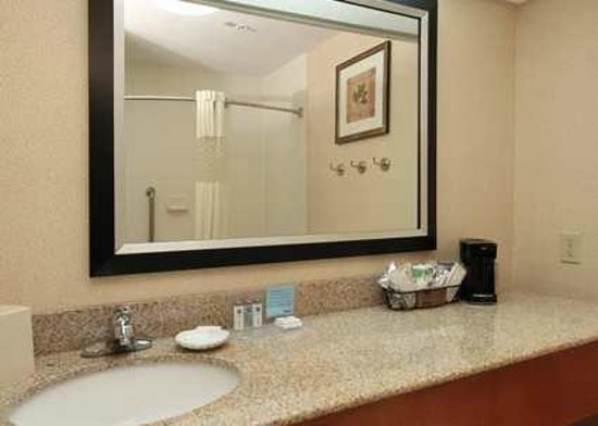 Hampton Inn Tracy Hotel Bathroom