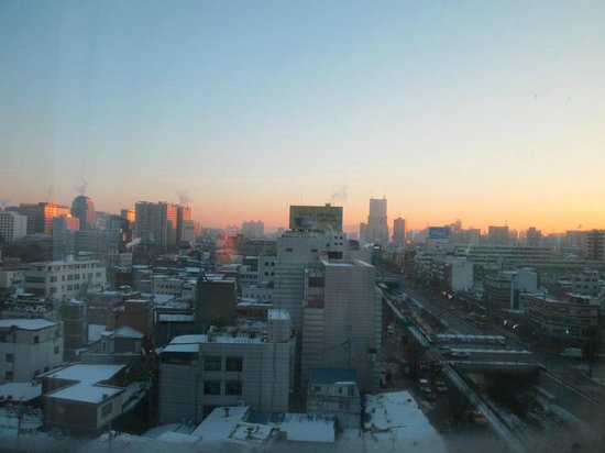 Seven Street Seoul: View from my room