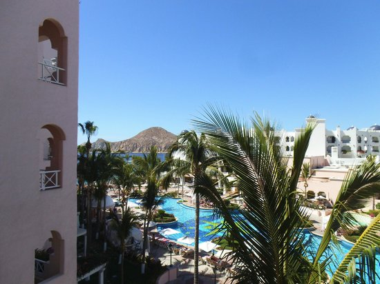 Pueblo Bonito Rose: View from Balcony of 4016