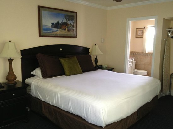 Blue Sands Motel : chambre king size