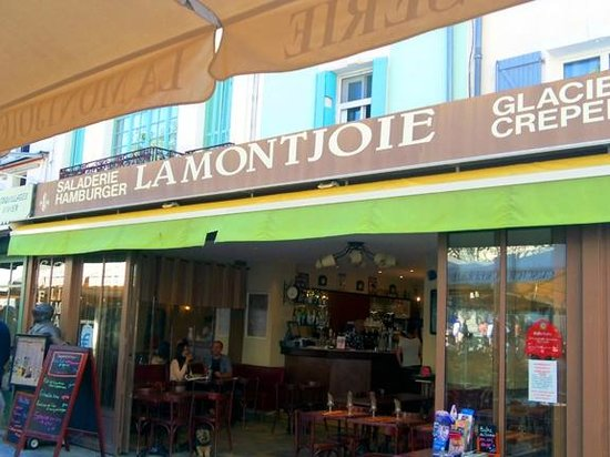 La Montjoie : The restaurant