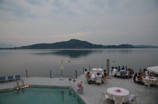Antico Verbano: Cena lungo lago