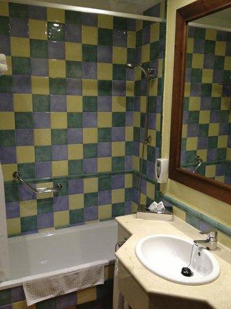 Hotel Fuerte Grazalema: Salle de bain