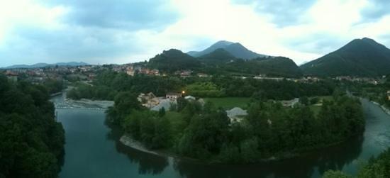 Hotel Ventolosa: панорамный вид из окон