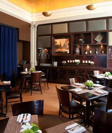 Lenox Hotel : City Table Restaurant
