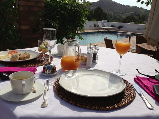 Hotel Casa del Maco: Ontbijtje!