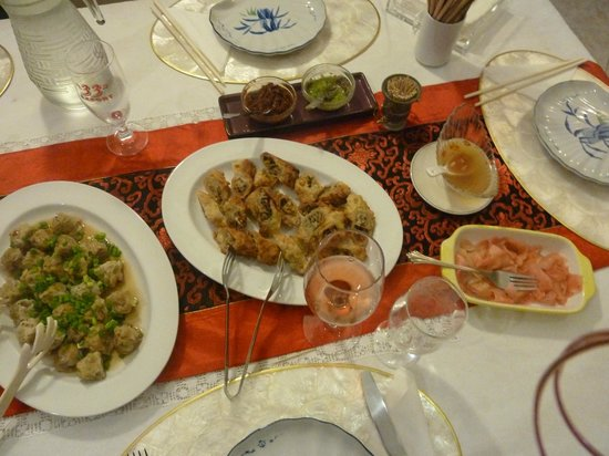 Pallagino Guest House: Sandy's wonderful cooking. Délicieuse cuisine de Sandy