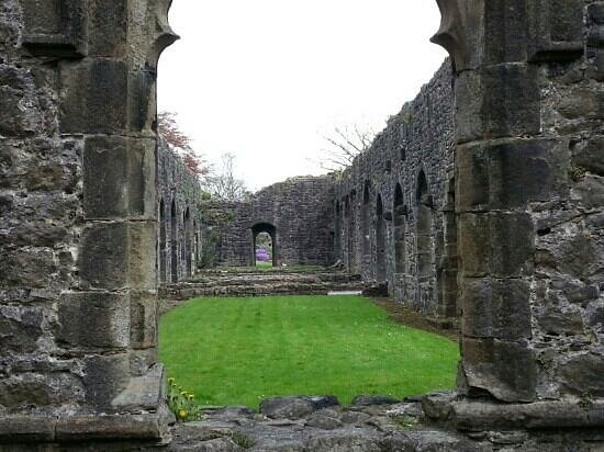 Whalley Abbey: more ruins