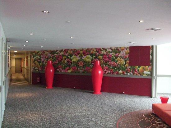 Mercure Bordeaux Cité Mondiale Centre Ville : Le couloir