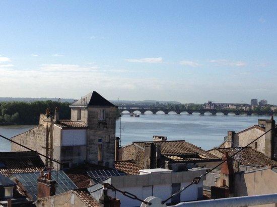 Mercure Bordeaux Cité Mondiale Centre Ville : La vue depuis le 7ème étage