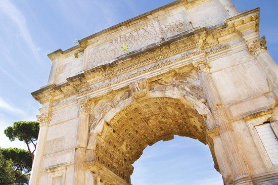 Roma Experience Tours: archus of titus
