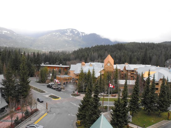 Fairmont Chateau Whistler Resort: view from our room