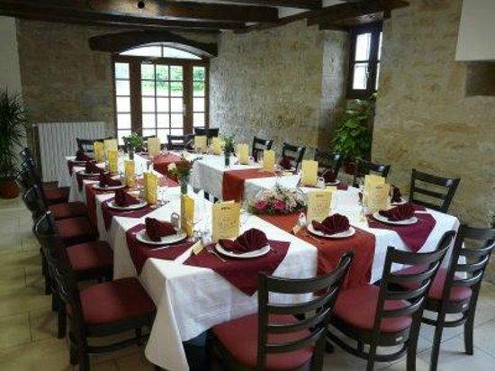 Auberge de Cartassac : accueil groupe