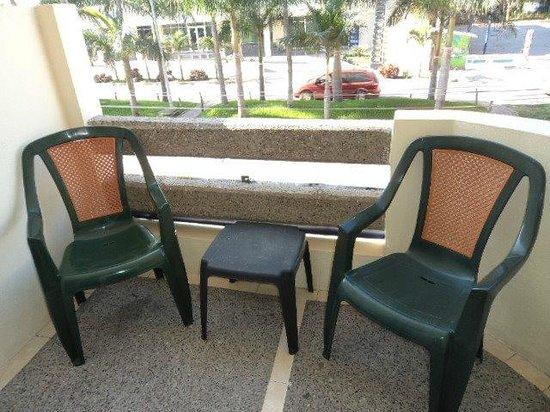 Hotel Sombrero Suites : Balcony