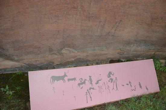 Pinturas Rupestres Albarracin: Pinturas del Abrigo Doña Clotilde