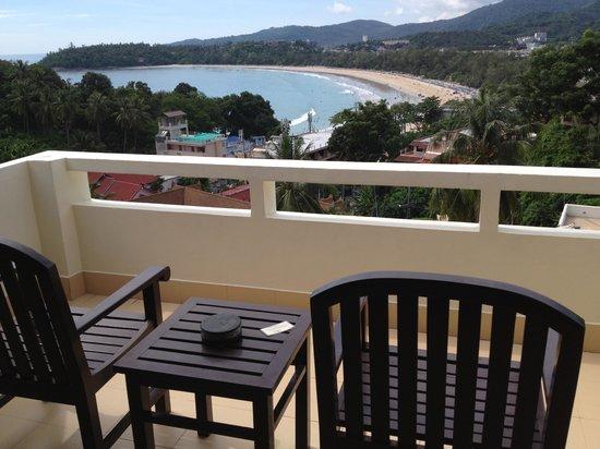 Orchidacea Resort : Vue du balcon
