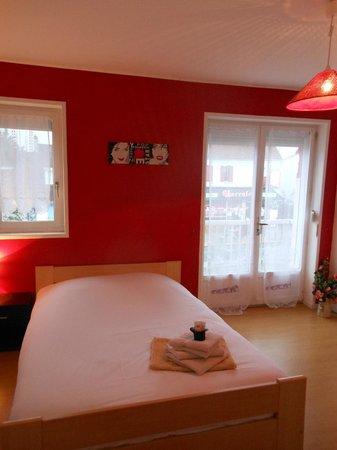 Villa les Aiguades: la chambre 3