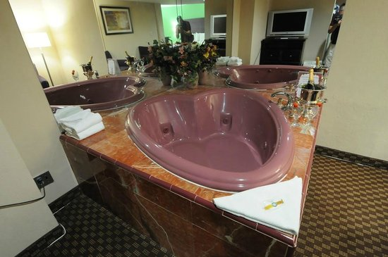 Quality Inn & Suites-Capital District: Ahh....Spa Suite