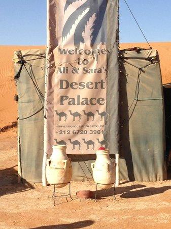 Ali & Sara's Desert Palace!