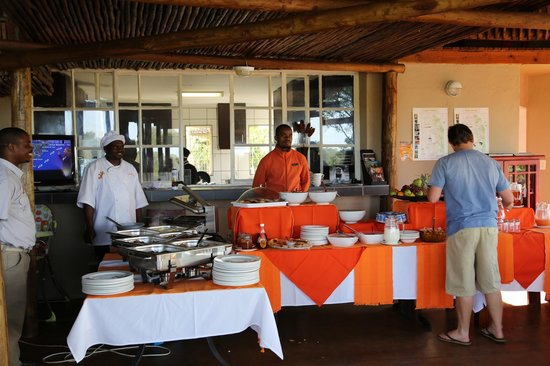 Sabie River Bush Lodge: Breakfast