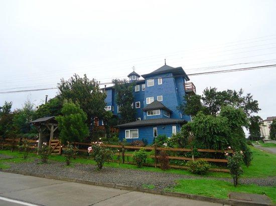 El frente de Casa Kalfu