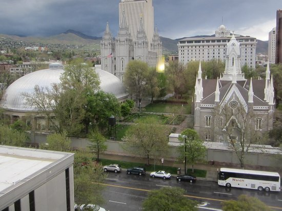 Salt Lake Plaza Hotel: View from side window