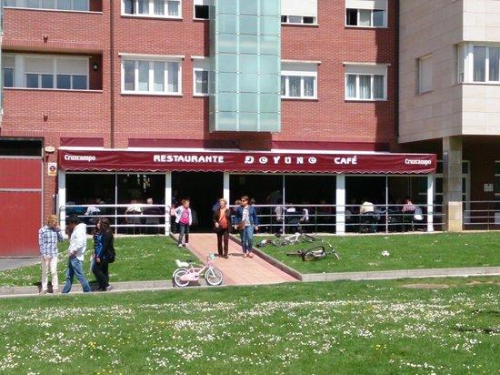 Restaurante Doyuno : exterior