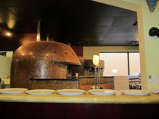 Settebello Pizzeria: The pizza oven