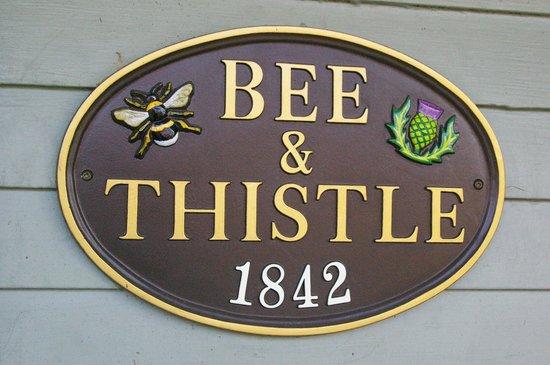 Bee & Thistle Guest House: Front Door