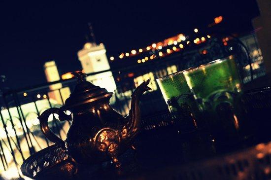 Dar Moula : Thè alla menta in terrazza