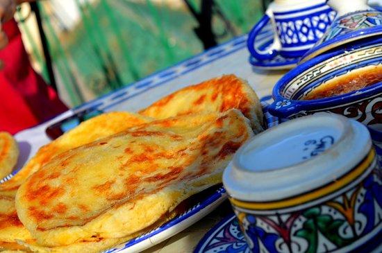 Dar Moula : Alcune componenti della colazione