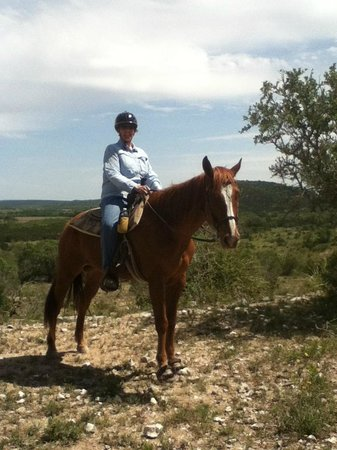 Hill Country Equestrian Lodge: A trail ride on Trace