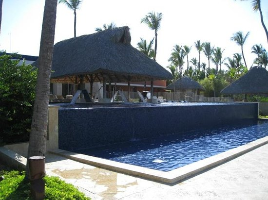 Barcelo Bavaro Palace: Infinity pool in spa area