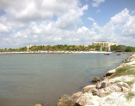 Hacienda Tres Rios: View of Property from Pier