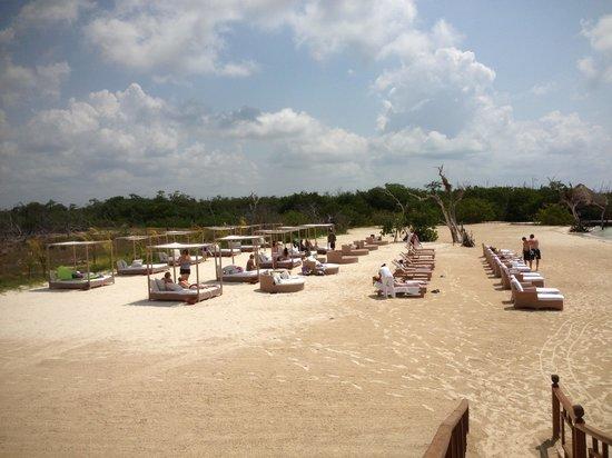 Hacienda Tres Rios: Private Beach