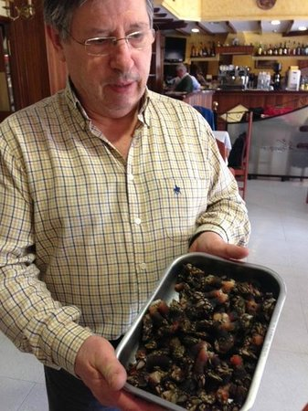 Meson Don Camilo: Percebes