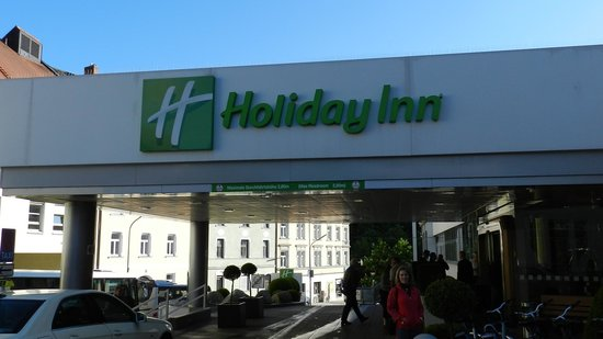 Holiday Inn Munich - City Centre: Fachada do Hotel