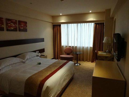 Casa Real Hotel: 部屋はこじんまりしていますが、一人にはちょうど良いです。