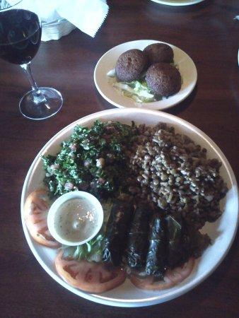 Elia's Mediterranean Cuisine: Vegetarian combo