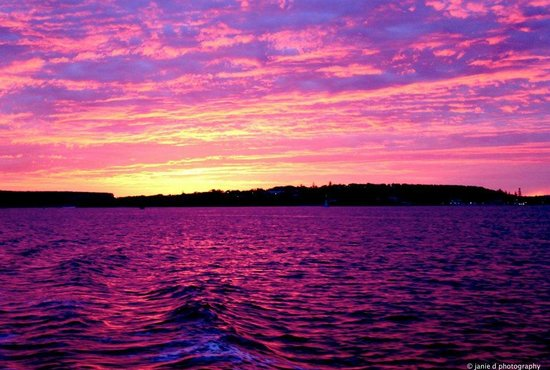 now THIS is why I love Sydney Harbour!  photo taken at dawn whilst travelling on Manly Ferry to