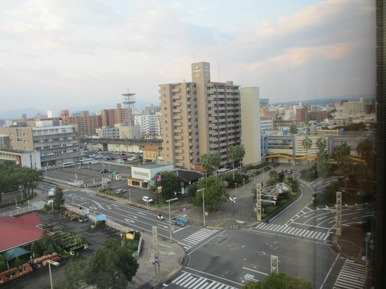 Richmond Hotel Miyazaki Station-Side: 部屋から宮崎駅方面